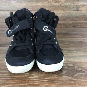 Guess Woman's Platform Sneakers Size 8.5